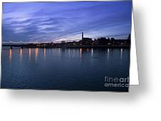 Shannon River Estuary At Limerick Greeting Card