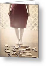 Shards Greeting Card by Joana Kruse