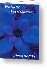 Sharing The Joys Of Christmas Greeting Card