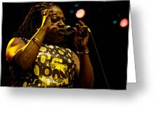 Sharon Jones Greeting Card