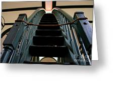 Sharon Temple Stairs Greeting Card