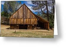 Shasta Barn Greeting Card