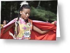 Shawl Dancer 109 Greeting Card