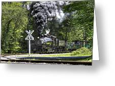 Shay Six At Back Mountain Road Greeting Card