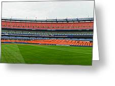 Shea Stadium Pano Greeting Card