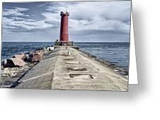 Sheboygan Breakwater Greeting Card