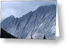 Sheer Mountain Face Greeting Card