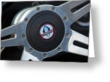 Shelby Cobra Steering Wheel Greeting Card