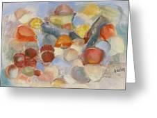 Shell Impresion II Greeting Card by Susan Hanlon