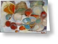 Shell Impression IIi Greeting Card by Susan Hanlon