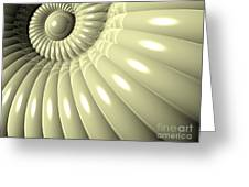 Shell Of Repetition Greeting Card