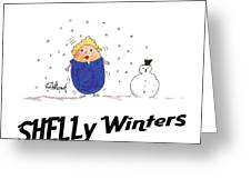 Shelly Winters Greeting Card