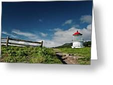 Shelter Cove Lighthouse Greeting Card