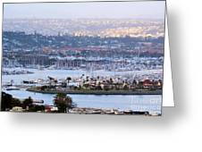 Shelter Island Point - San Diego Greeting Card
