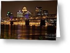Sherman Minton Bridge Greeting Card
