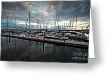 Shilshole Marina Tranquility Greeting Card