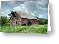 Shingle Barn 1 Greeting Card