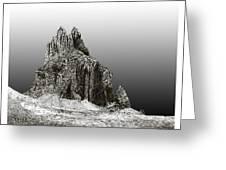 Shiprock Mountain Four Corners Greeting Card