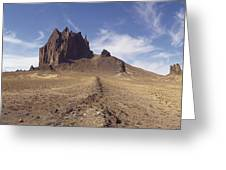 Shiprock, Volcanic Plug, Utah. Greeting Card