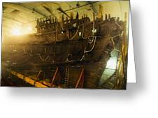 Shipwreck Of The Mary Rose, Portsmouth Greeting Card