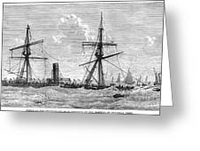 Shipwrecks, 1875 Greeting Card by Granger