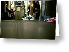Shoes On The L Greeting Card