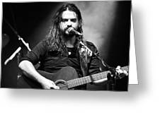 Shooter Jennings - Country Mark Greeting Card