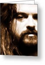Shooter Jennings - Son Of Country Greeting Card