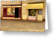 Shops In Beaune France Greeting Card