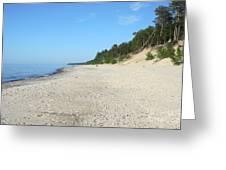 Shore Of Lake Superior Greeting Card