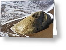 Shoreline Rock Greeting Card