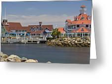 Shoreline Village Greeting Card