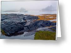 Shorelines Bluerocks Lunenburg Nova Scotia Greeting Card