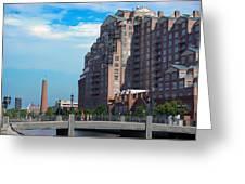 Shot Tower - Baltimore Greeting Card
