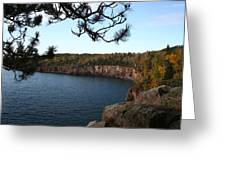 Shovel Point From Crystal Creek Overlook Greeting Card