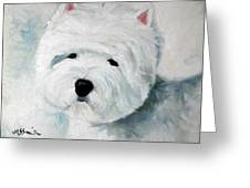 Show Dog  Greeting Card