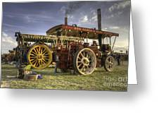 Showmans Engines Greeting Card