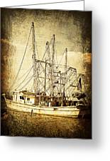 Shrimper Greeting Card