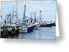 Shrimpers Row Greeting Card