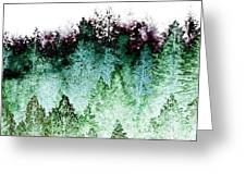 Shrouded In Fog Greeting Card