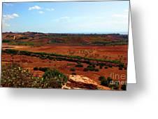Sicilian Landscape Greeting Card