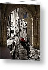Sicily Meets Venice Greeting Card