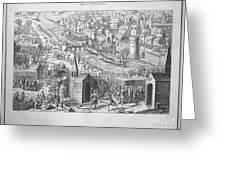 Siege Of Orleans, 1428-1429 Greeting Card