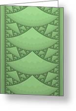 Sierpinski Composition Greeting Card