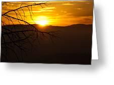 Sierra Dusk Greeting Card