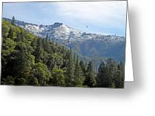 Sierra First Snow Greeting Card