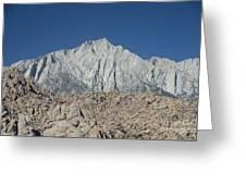 Sierra Nevada Greeting Card