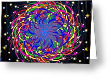 Siete Colores 2012 Greeting Card