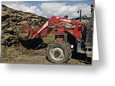 Silage Heap Greeting Card
