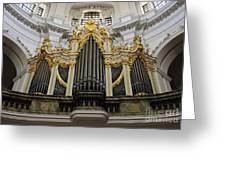 Silbermann Organ Greeting Card